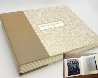 NEW Custom Interleaved Photo Album, Personalized, Design your Own, Made to Order