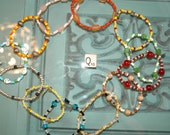 WHOLESALE LOT Q OF 12 Single Loop Bracelet - Proceeds Benefit Cancer Research