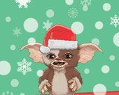 Gremlins Christmas Card