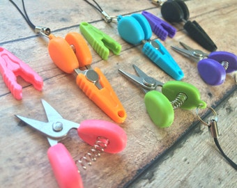 Razor sharp miniature scissors - great for plane travel/yarn/thread/embroidery/knitting/crochet!
