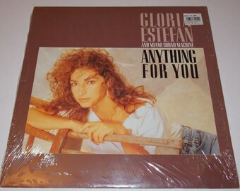 N/Mint in Shrink wrap! - 1987 - Gloria Estefan and The Miami Sound Machine - Anything For You - w/ Insert - LP Vinyl Record Album - 80's Pop