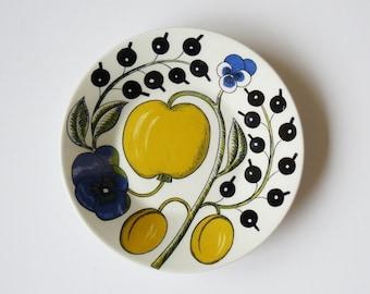 Mid-Century Modern Arabia Finland Birger Kaipiainen Paratiisi Small Dish Plate
