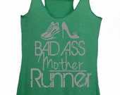 Half marathon thank - Half marathon shirts - Half marathon gifts - Bad ass mother runner