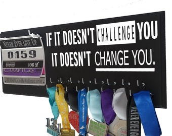 RUNNING medal rack, Running, Race bib holder - Race Medal Holder - Gifts for runners - running medal holder - Half Marathon gift