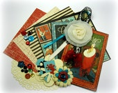Graphic 45 Couture Inspiration Kit, Embellishment Kit Life Project Kit for Scrapbook Layouts Cards Mini Albums Tags and Paper crafts 2