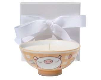 This Little Piggy Hand Poured Soy Wax Candle, Sorbet