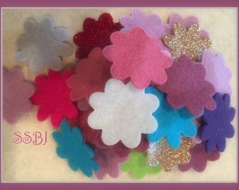 "20 Wool Felt Sheets YOU PICK-Wool Felt-Craft Felt-Wholesale-9x12"" Felt Sheets"