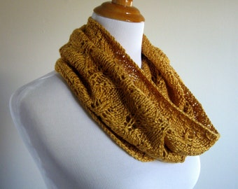 Infinity Scarf Hand Knit