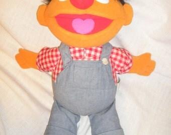 Sesame Street Down on the Farm Ernie Doll