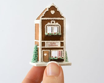 Micro Gingerbread Cafe Kit