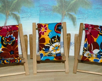 Small Floral Print Cell Phone Chair Mamakohawaii