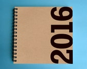 30% OFF! 2016 Weekly Planner - SMALL 14cm/5.5in Square