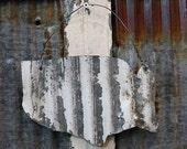 Upcycled Tin United States Wall Decor