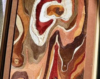 Woodruff - A String Collage