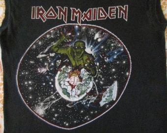 IRON MAIDEN 1983 tour T SHIRT