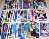 50 Assorted Vintage Seattle Mariner Cards