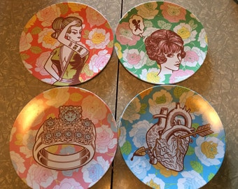 Melamine Plate set