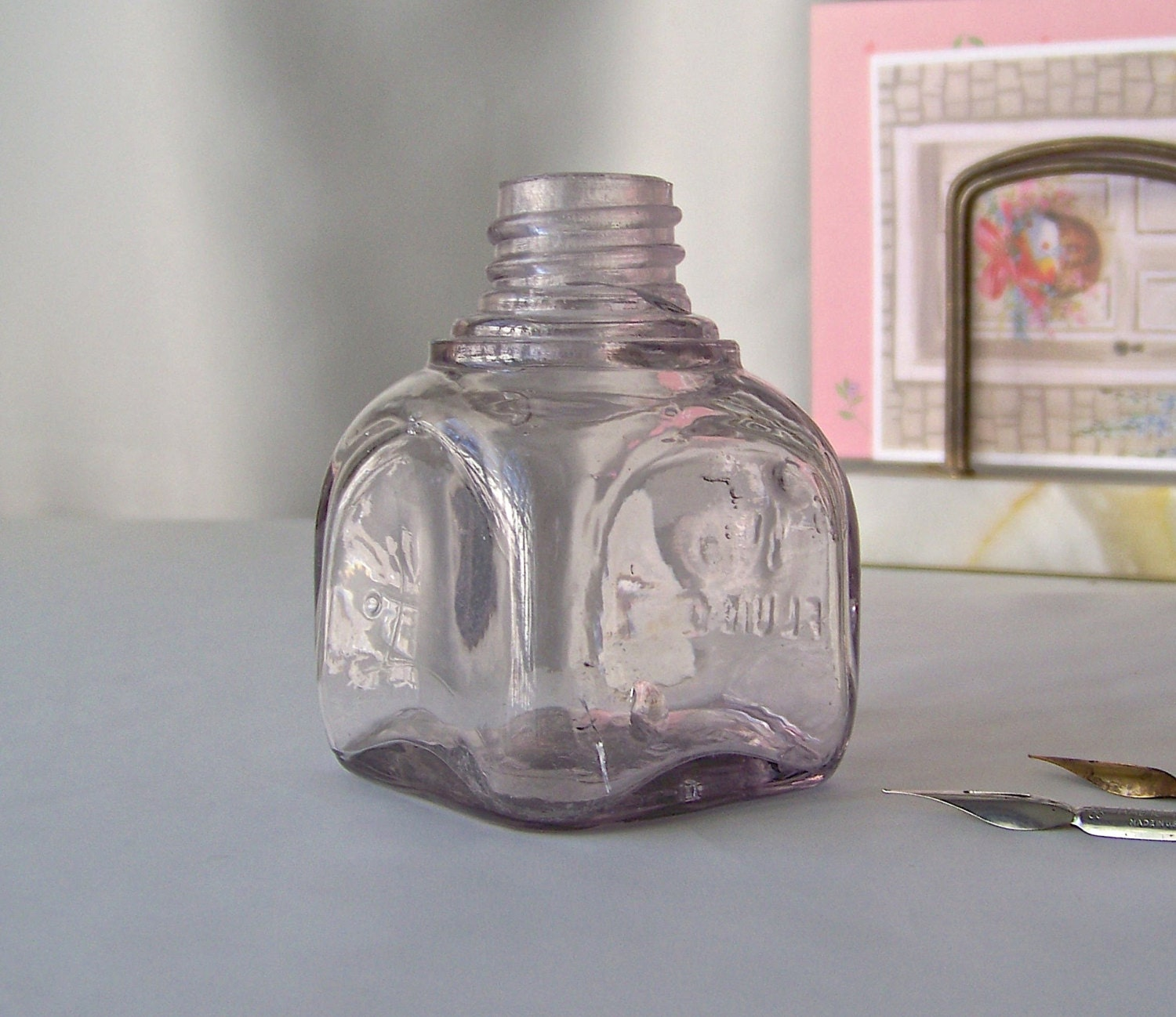 Vintage Ink Bottle 39