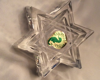Sale Waterford Crystal Jewish Star