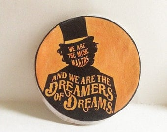 Willy Wonka Music Makers Dreamers of Dreams Magnet