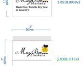 Custom damask woven label 5.0303.1115v3,3.0510.0939V2