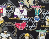 Anime Magi fabric half yard The Labyrinth of Magic