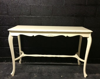 Curvy Legs Console Table
