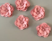 3D Wall Magnolia flowers  - Pink Magnilia flower  decal, wall decoration