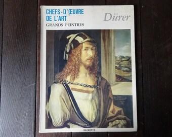 Vintage French Large Paperback Art Reference Magazines Painter Durer Chefs-D'Oeuvre De L'Art Grand Peintres circa 1967 / English Shop