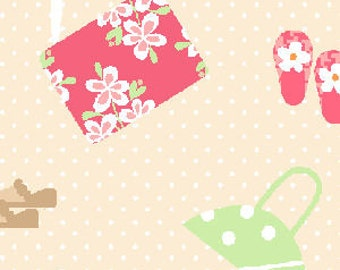 SALE 1 Yard - Pajama Party by Barbara Jones of QuiltSoup for Henry Glass