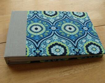 4x6 or 5x7 Photo Album/ Small Photo Scrapbook in Ocean Blue