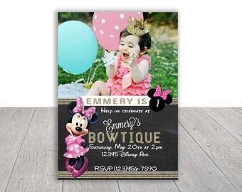 Minnie Mouse Printable Invitation