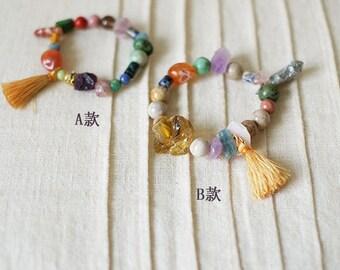 Beads bracelet--The secret garden by 睡