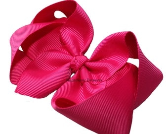 75  4 Inch Boutique Bow  1.5 Inch Ribbon