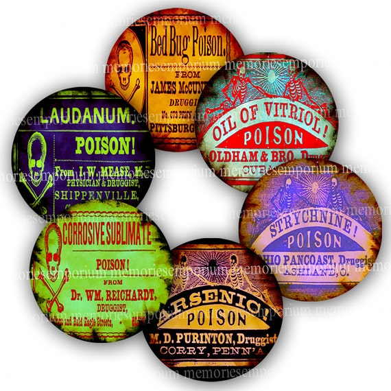 Basket Weaving Supplies Melbourne : Halloween circles poison digital paper clipart inch