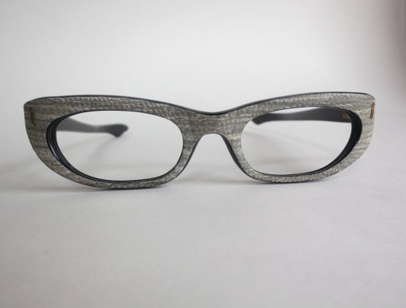 Vintage Eyeglass Frames New Old Stock : French Eyeglass Frames New Old Stock 1950s Swank Vintage