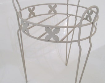 Vintage Hairpin Tripod Plant Stand/Holder/Table