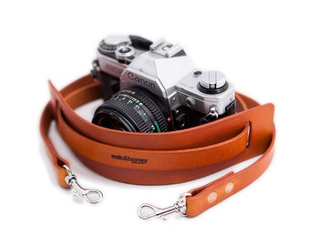 Full Grain Detachable Camera Strap