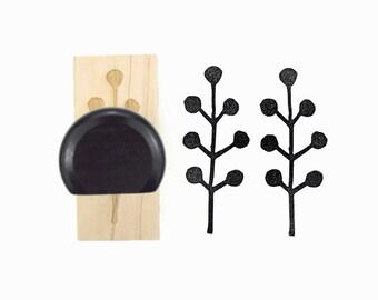 Twig Sprig, Pattern Rubber Stamp - Leaf, Olive Branch, Spring Rubber Stamp