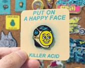 Put On A Happy Face enamel pin