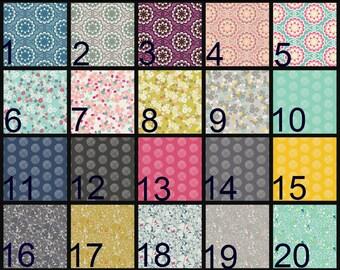 Crib Blanket, Crib Bedding, Crib Quilt, Baby Bedding, Block Baby Quilt, Square Baby Quilt, geometric, circles, dots, medallions