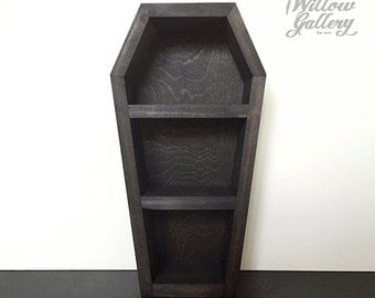 Coffin Shelf Modern 13 inches