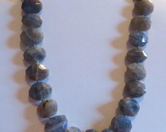 515 Cts Labradorite Bead Necklace Labradorite Necklace Labradorite Stone Jewelry Labradorite Stone Necklace Labradorite Jewelry Crystal