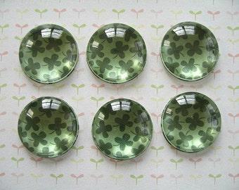 St Patrick's Day, Lucky Shamrock, Clover Lucky Magnet Fridge Magnet, Irish Decoration, Shamrock Magnets, St Patrick's Day Magnets
