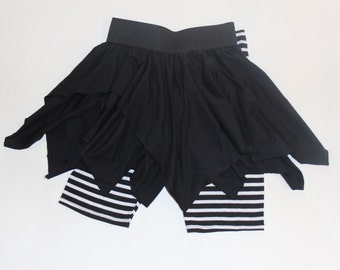 Girls Witchy Poo Skirt and Shorts Set