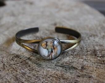 Bracelet petite merveille éléphant (BR-49)