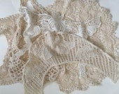 Crotchet Lace Assortment, Crafting Supply, Sewing Supply