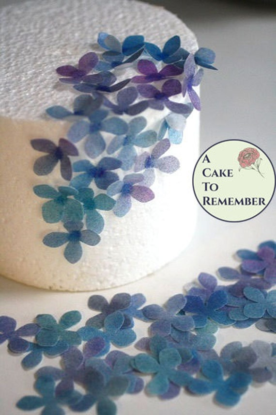 50 solid color edible flowers and decorations wafer paper flowers il570xn mightylinksfo