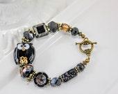 Black Owl Artisan Bracelet