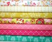 Half Yard Each, Tropicana Quilt Bundle, Art Gallery Fabrics, Quilting Cotton, Stash Builder